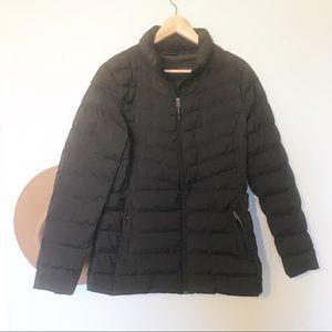 32 Degree Heat black puffer jacket
